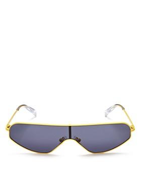 Kendall + Kylie - Women's Surfer Shield Sunglasses, 63mm