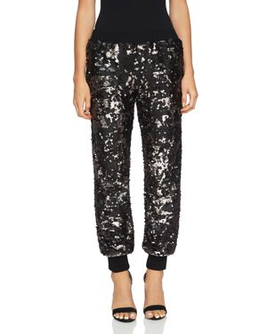 1.state Sequined Jogger Pants