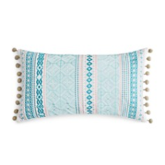 """Sky Camila Embroidered Foulard Stripe Decorative Pillow, 14"""" x 26"""" - 100% Exclusive - Bloomingdale's_0"""