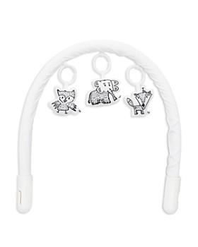 DockATot - Toy Arch & Hanging Elephant, Owl & Fox Toys