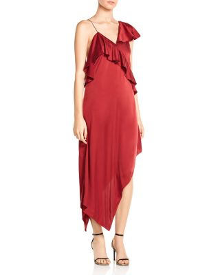 $Haute Hippie All You Need Is Love Stretch Silk Dress - Bloomingdale's