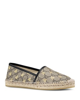 Gucci - Women's Pilar GG Supreme Canvas Espadrille Flats