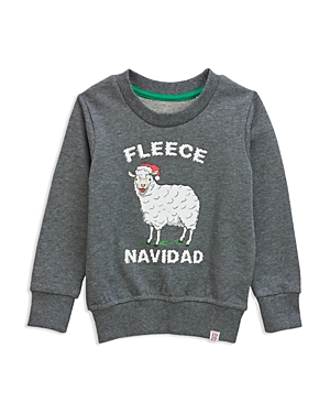 Sovereign Code Boys' Fleece Navidad Graphic Sweatshirt - Little Kid