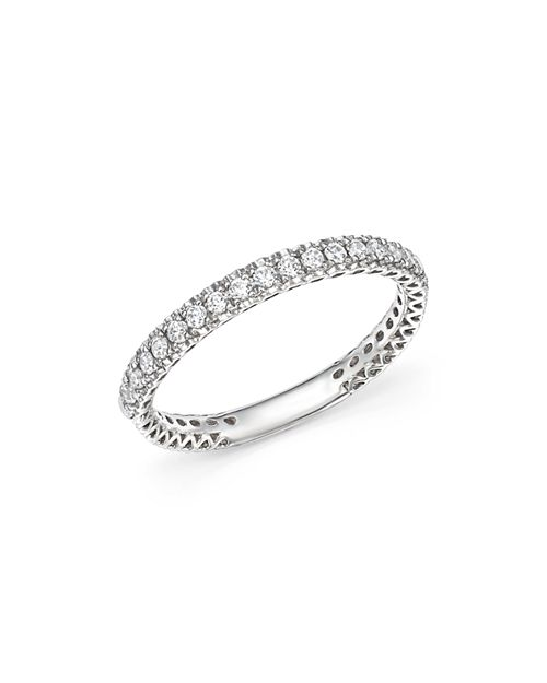 Bloomingdale's - Heart Openwork Diamond Ring in 14K White Gold, 0.25 ct. t.w. - 100% Exclusive