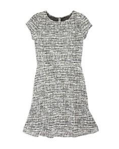 AQUA Girls' Tweed Dress, Big Kid - 100% Exclusive - Bloomingdale's_0