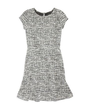 AQUA - Girls' Tweed Dress, Big Kid - 100% Exclusive