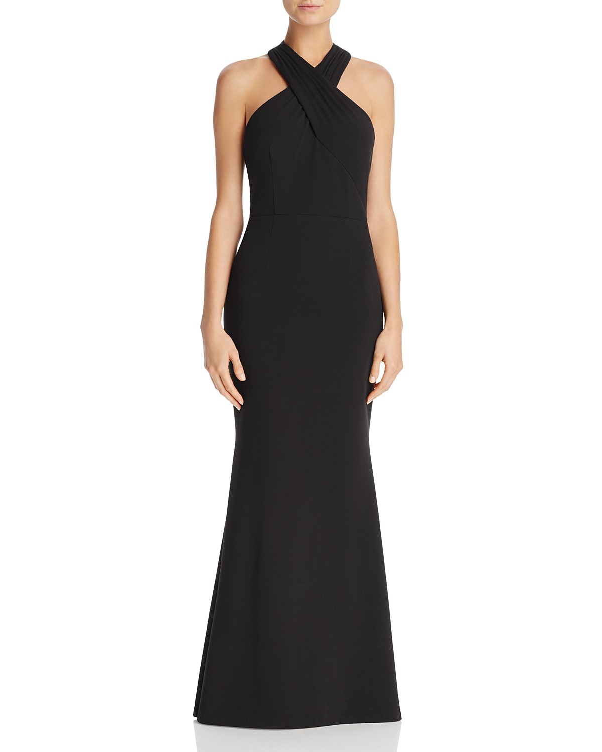 JS Collections Cross-Front Gown | Bloomingdale\'s