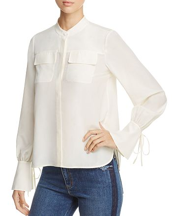 Tory Burch - Gianna Silk Shirt