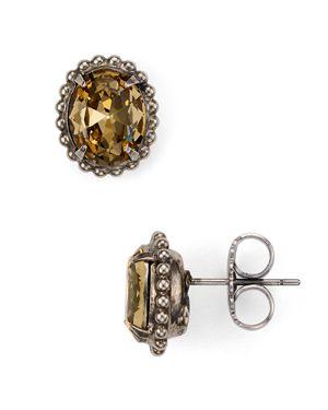 Sorrelli Oval Earrings