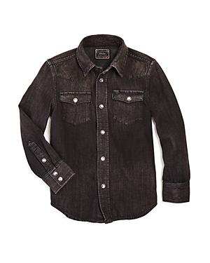 Ralph Lauren Childrenswear Boys' Denim Western Shirt - Little Kid