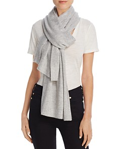 Minnie Rose Studded Cashmere Scarf - Bloomingdale's_0