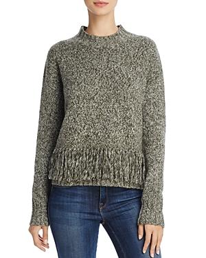 Rebecca Minkoff Neala Fringed-Hem Sweater