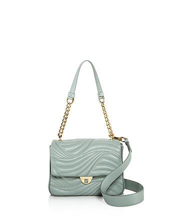 63907aac3c Salvatore Ferragamo - Lexi Small Waves Leather Shoulder Bag - 100% Exclusive