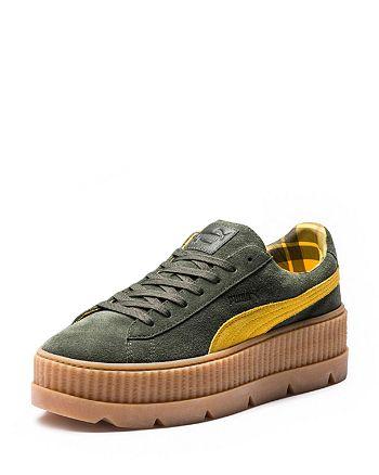 83d8dc5b42c FENTY Puma x Rihanna Women s Cleated Creeper Suede Platform Sneakers ...