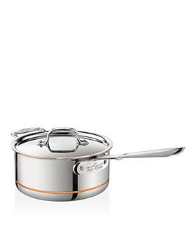 All-Clad - Copper Core 3-Quart Covered Saucepan