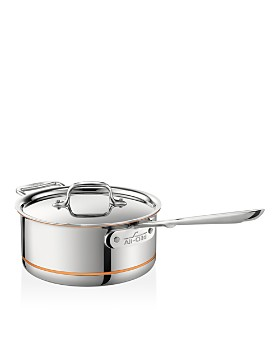 All-Clad - Copper Core 3-Quart Covered Saucepan