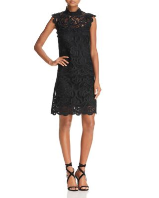 $Laundry by Shelli Segal Mock-Neck Venice Dress - Bloomingdale's