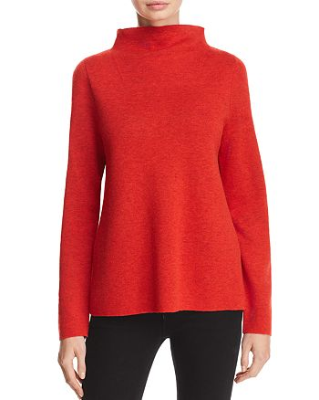 05eb7435a42 Eileen Fisher Petites - Reversible Funnel-Neck Sweater