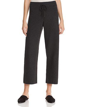 Eileen Fisher - Drawstring Wide-Leg Pants