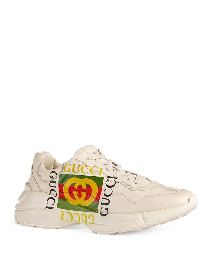 on feet at for whole family genuine shoes Men's Vintage Logo Sneakers