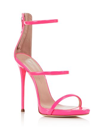 Giuseppe Zanotti - Women's Vernice Patent Leather Ankle Strap High-Heel Sandals