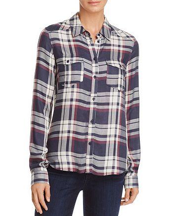 PAIGE - Mya Plaid Shirt