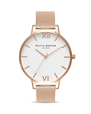 Olivia Burton White Dial Watch, 38mm