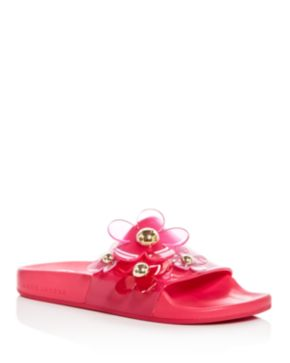 Marc Jacobs Daisy embellished slides best place cheap price free shipping popular EwSdLNA