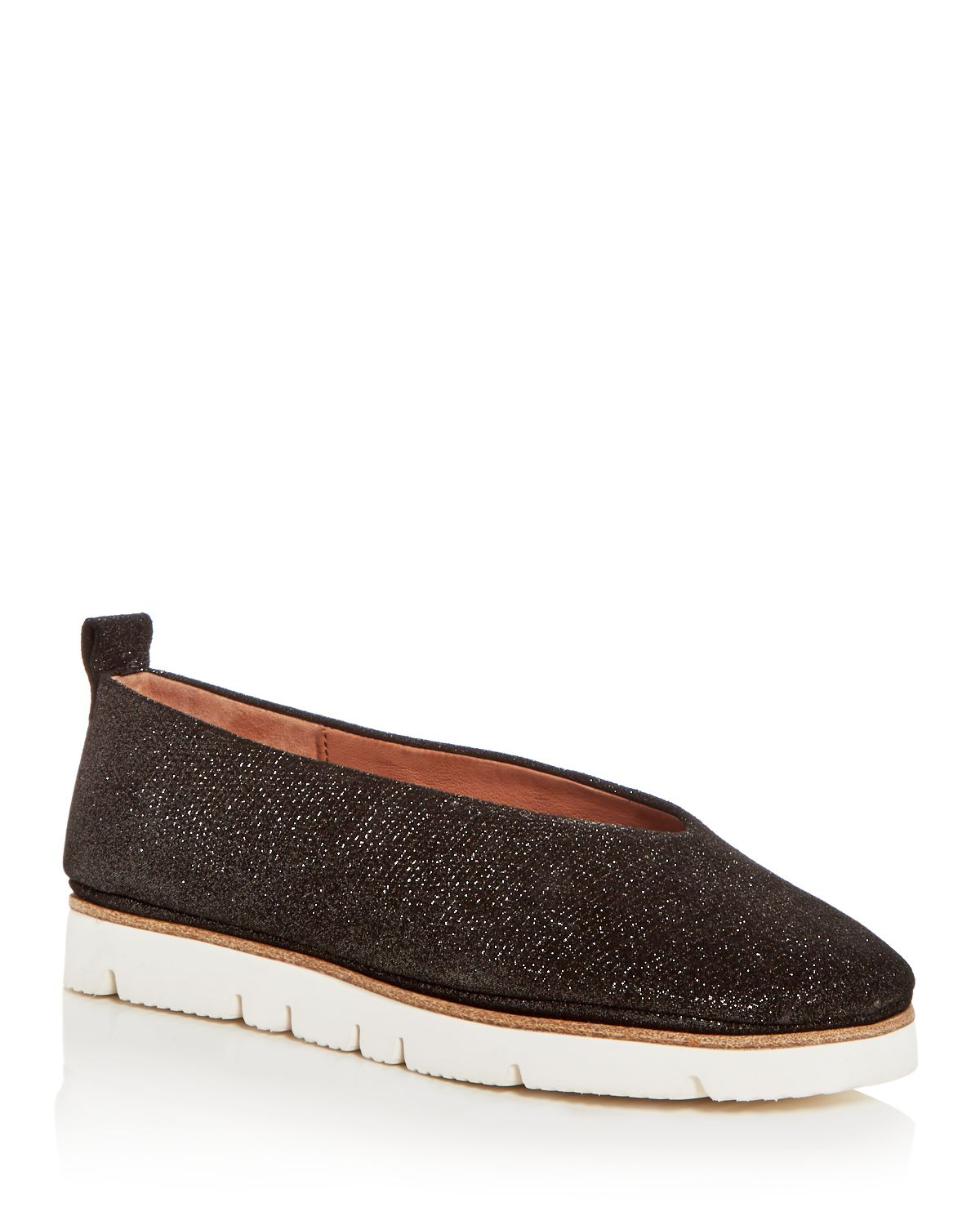 Demi Glitter Leather Flat - Shoe Gentle Souls