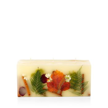 Rosy Rings - Oak Moss & Myrhh 3-Wick Brick Candle