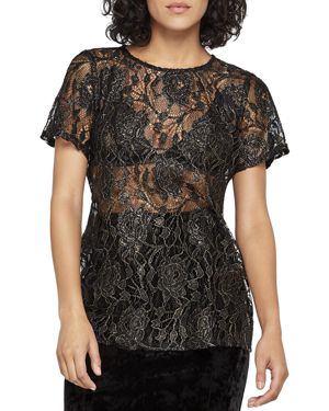 BCBGeneration Lace Tee