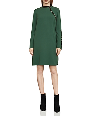 Bcbgmaxazria Kathryne Bell-Sleeve Snap Dress
