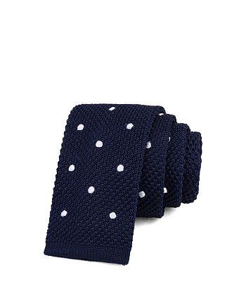 Bloomingdale's Boys - Boys' Polka-Dot Knit Tie - 100% Exclusive