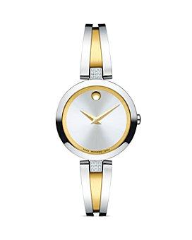 Movado - Aleena Diamond Two-Tone Watch, 27mm