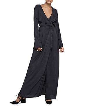 BCBGeneration Wrap Maxi Dress