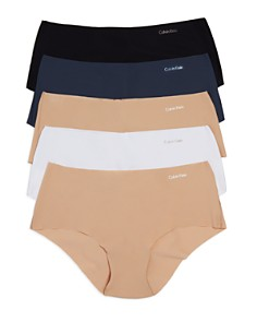 Calvin Klein Invisibles Hipsters, Set of 5 - Bloomingdale's_0
