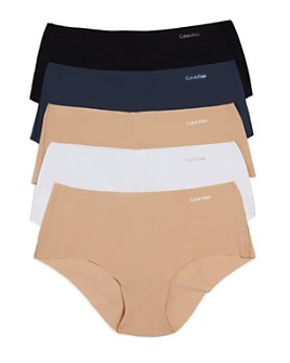 Calvin Klein - Invisibles Hipsters, Set of 5