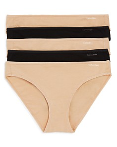 Calvin Klein - Form Cotton Bikinis, Set of 5
