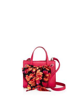 Salvatore Ferragamo Foulard Small Leather Satchel 2675878