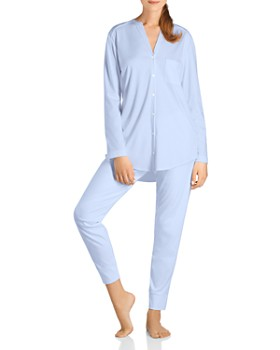 4346c05cdc Hanro - Pure Essence Pajama Set ...