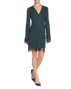Catherine Catherine Malandrino Pernilla Crochet-Trim Dress