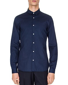 The Kooples - Spring Shutters Slim Fit Button-Down Shirt