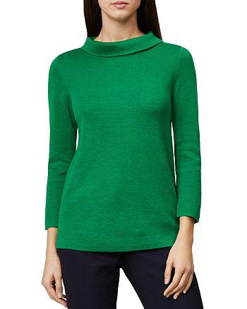 HOBBS LONDON - Anastasia Roll-Collar Sweater