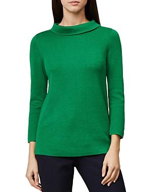 Hobbs London Anastasia Roll-Collar Sweater