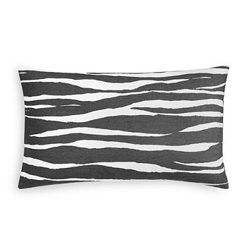 "kate spade new york - Zebra Stripe Decorative Pillow, 10"" x 20"""