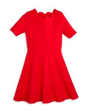 Aqua Girls' Scalloped Dress, Big Kid - 100% Exclusive 2793053