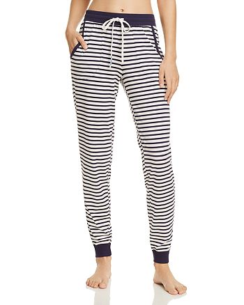 Jane & Bleecker New York - Striped Jogger Pants