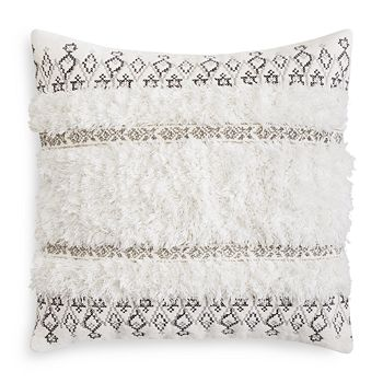 "Sky - Tufted Moroccan Decorative Pillow, 20"" x 20"" - 100% Exclusive"