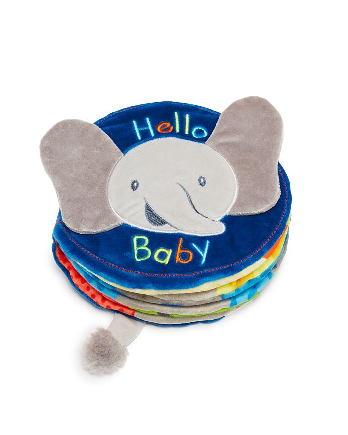 Gund - Hello Baby Flappy Soft Book - Ages 0+