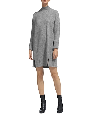 Whistles Ribbed-Knit Sweater Dress